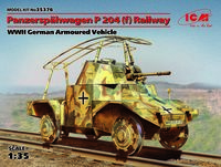 Panzerspähwagen P 204 (f) Railway, WWII German Armoured Vehicle - Image 1