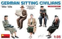 German Sitting Civilians 30-40s