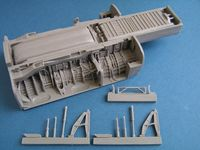 BAC TSR-2 main wheel well for Airfix - Image 1