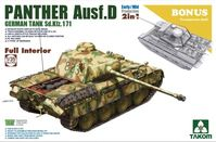 Panther Ausf. D Early/Mid Full Interior Kit  2-1 - Image 1