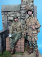 US Paratrooper & Infantry soldier - Normandy 1944 - Image 1