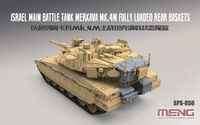Israel Main Battle Tank Merkava Mk.4M Fully Loaded Rear Baskets