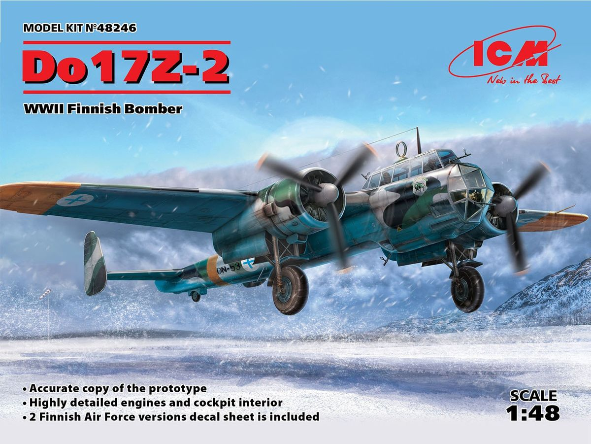 Do 17Z-2 WWII Finnish Bomber - Image 1