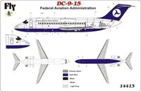 "DC 9-15 ""Federal Aviation Administration"""