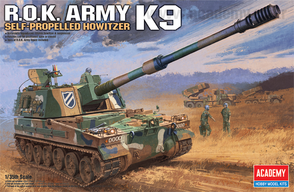 R.O.K. ARMY K9 Self-propelled howitzer - Image 1