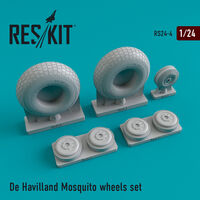 De Havilland Mosquito wheels set