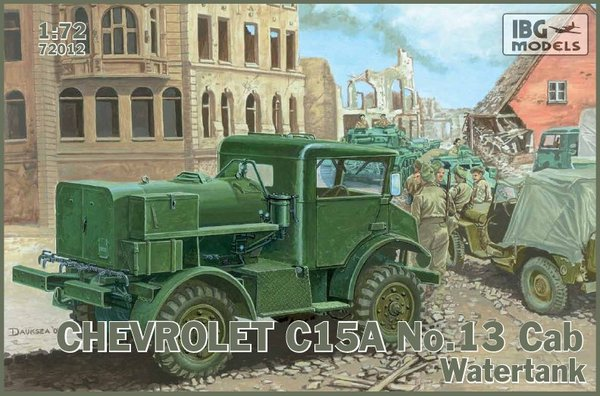 Chevrolet C.15A No.13 Cab Watertank - Image 1
