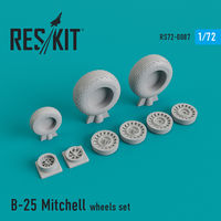 B-25 Mitchell wheels set