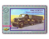 GMC CCW353 w/Semi-trailer