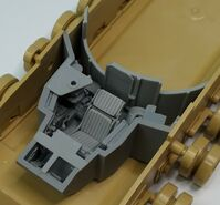 M1A2 Abrams driver set for Tamiya - Image 1