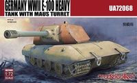 Germany WWII E-100 Heavy Tank with Mouse Turret - Image 1