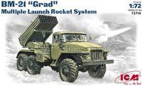 BM 21 Grad Multiple launch rocket system