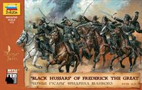 """Black Hussars"" of Frederick The Great (Seven Years War)"